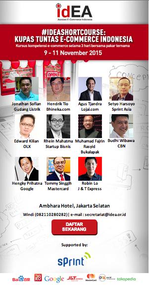 Yuk Hadiri Workshop idEA Kupas Tuntas Ecommerce Indonesia